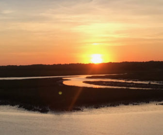 Jinks Creek Waterfront Grille Sunset Cam Ocean Isle Beach NC