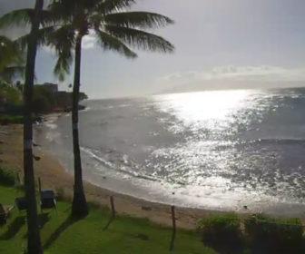 Kahana Village Live Beach Cam, Maui, HI