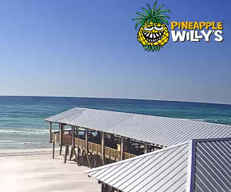 Pineapple Willy's Live Beach Cam Panama City Beach, FL