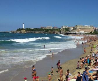 La Grande Plage Biarritz Beach Cam, France