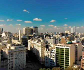 Buenos Aires Argentina Aerial Video Tour