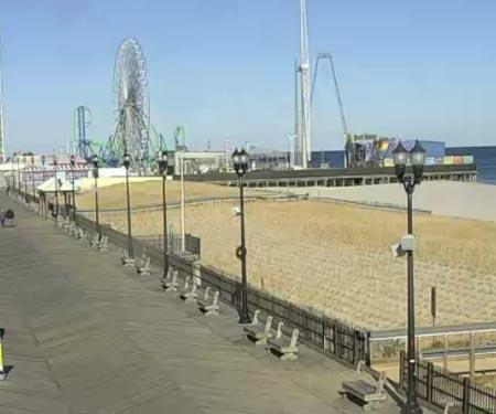 Seaside Heights Boardwalk North Cam