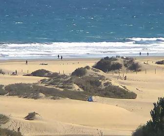 Playa del Inglés, Gran Canaria Spain Beach Webcam