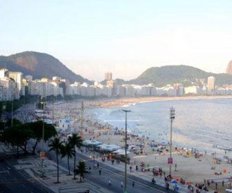 Copacabana Beach, Rio De Janeiro Webcam