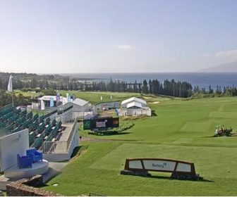 Kapalua Golf Webcam Maui Hawaii