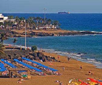 Playa Grande Puerto del Carmen Live Cam, Spain