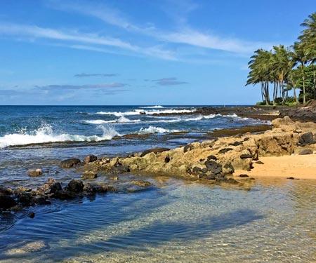 Poipu Beach, Kauai Webcam
