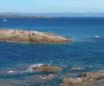 Live webcam Porquerolles Island in Hyères, France