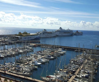 San Sebastian de La Gomera Port Webcam, Spain