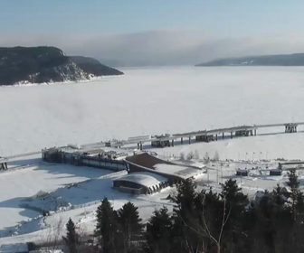 La Baie saguenay river Webcam, Quebec City, CA