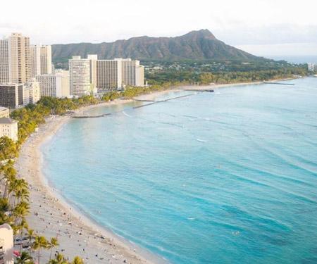 Sheraton Waikiki Webcam Oahu, Hawaii