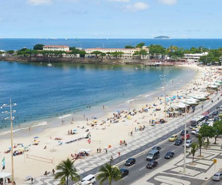 Copacabana Beach Webcam in Rio de Janeiro