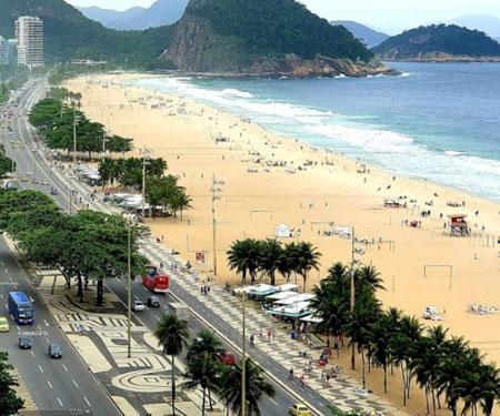 Copacabana Beach Brazil Webcam