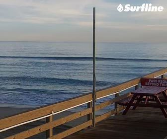 Nags Head Pier Surf Cam by Surfline Outer Banks NC