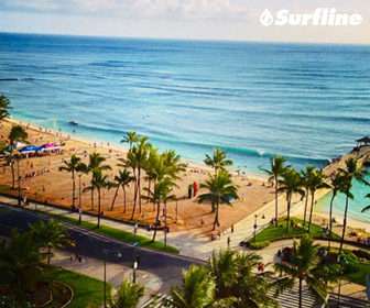 Park Shore Waikiki Surf Cam by Surfline, Honolulu, Oahu