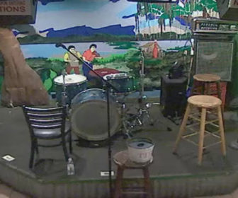 Tropical Isle Bayou Club Stage Cam, Mardi Gras New Orleans