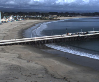 Santa Cruz Main Beach Webcam