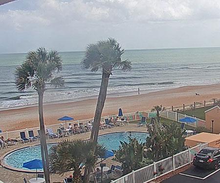 Coral Sands Inn Beach Webcam, Ormond Beach FL