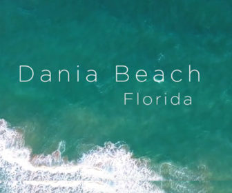 Aerial Tour of Dania Beach, FL