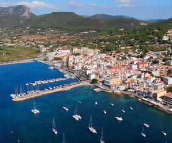Aerial Flyover of Mallorca, Spain