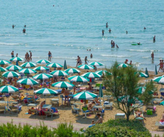 Green Beach Jesolo Italy Live Webcam
