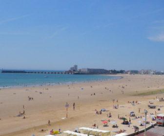 Les Sables d'Olonne France Live Beach Cam
