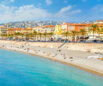 Nice, France Beach Webcam
