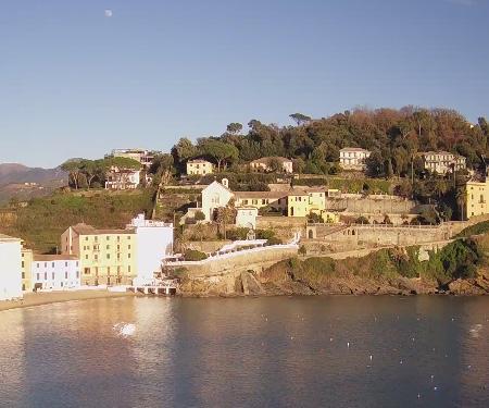Bay of Silence, Sestri Levante Italy Live Webcam