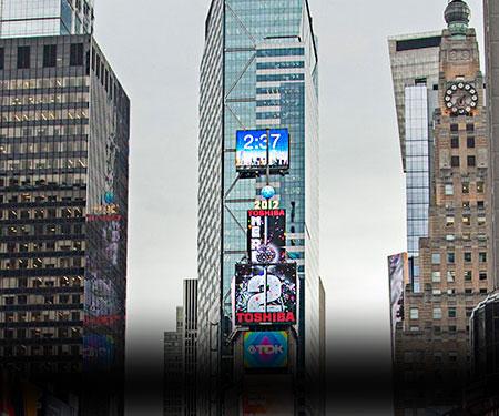Times Square New York City Webcam Ball Drop
