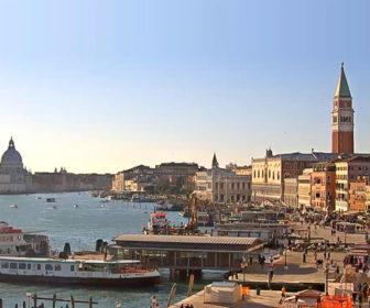 Saint Mark's Basin, Venice Italy Live Webcam