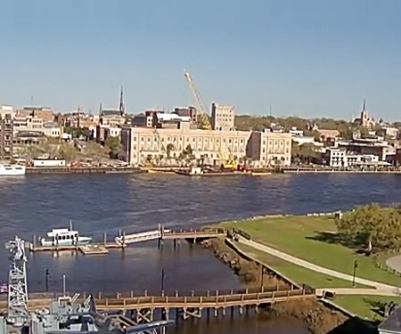 Battleship North Carolina Webcam, Wilmington, NC