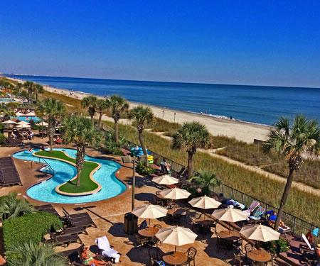 Compass Cove Oceanfront Resort Live Webcam, Myrtle Beach, SC