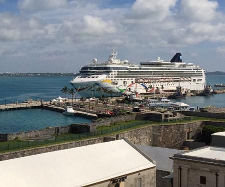Bermuda Cruise Port Webcam