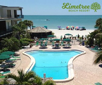 Limetree Beach Resort Pool Webcam, Sarasota FL