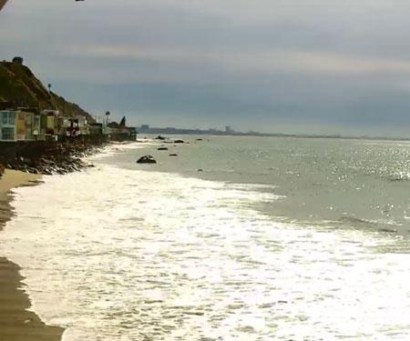Malibu, CA Beach Webcam by MalibuLive.org