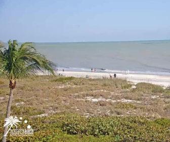 Ocean's Reach Resort Live Beach Cam, Sanibel Island, FL
