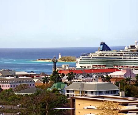 Paradise Island Harbor Webcam Bahamas, Caribbean