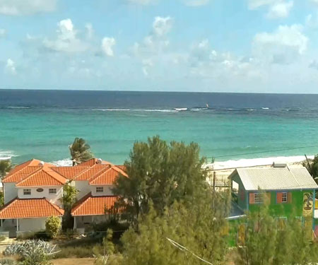 Silver Rock Beach, Barbados Webcam, Caribbean Islands