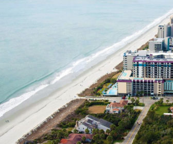 Grande Shores Ocean Resort Webcam, Myrtle Beach, SC