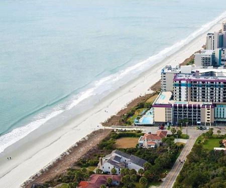 Grande Shores Ocean Resort Webcam, Myrtle Beach, SC