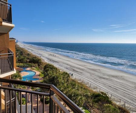 Island Vista Oceanfront Resort Webcam, Myrtle Beach, SC