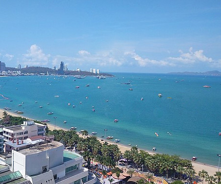 Pattaya Beach, Thailand Live Cam