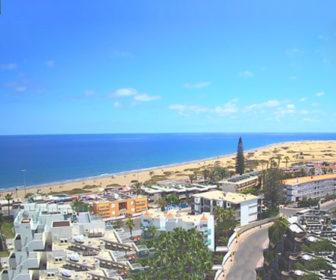 Playa del Ingles Beach Webcam, Spain