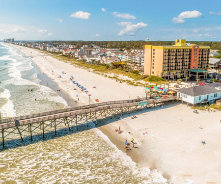 Surfside Beach Oceanfront Hotel Webcam