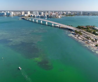 Aerial Tour of Sarasota, Florida