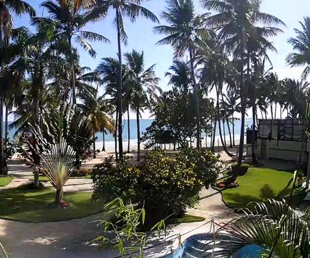 Cabarete Palm Beach Condos Webcam, Dominican Republic