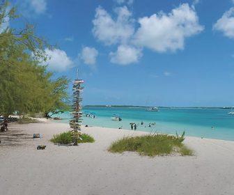 Exuma Cays National Park, Bahamas in 4k