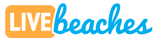 Live Beaches Logo