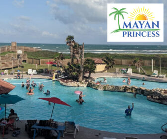 The Mayan Princess Live Beach Cam, Port Aransas TX