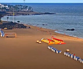 Puerto del Carmen Beach, Canary Islands Live Cam
